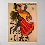 Palais De Glace, anuncio 1896 de Nouveau del arte Impresiones