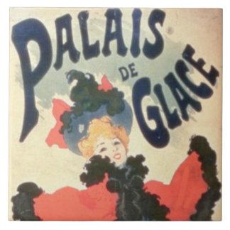 Palais de Glace, campeones Elysees, París, 1894 (c Azulejo Cuadrado Grande