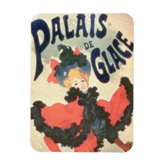 Palais de Glace, campeones Elysees, París, 1894 (c Imanes Flexibles