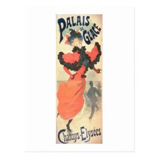 Palais de Glace, campeones Elysees, París, 1894 Postal