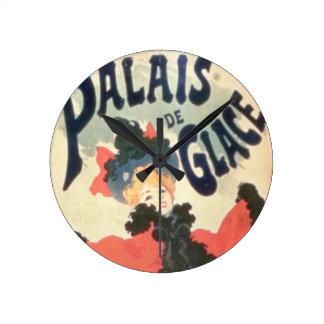 Palais de Glace, Champs Elysees, Paris, 1894 (colo Round Clock