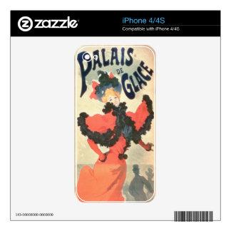 Palais de Glace, Champs Elysees, Paris, 1894 (colo Decals For The iPhone 4S