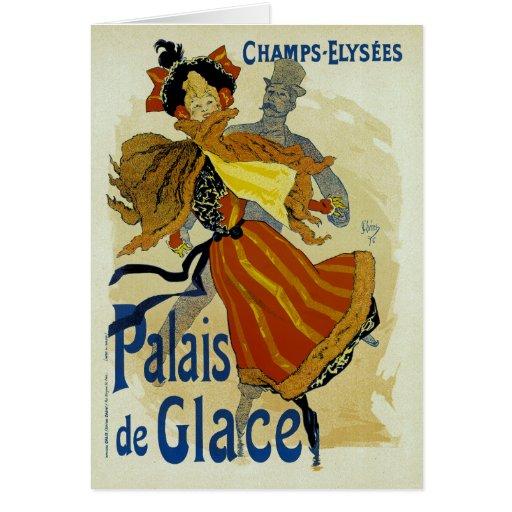 Palais de Glace Greeting Card