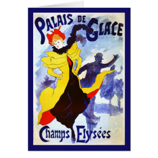 Palais de Glace, Jules Chéret Card