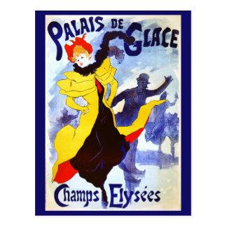 Palais de Glace, Jules Chéret Postcard