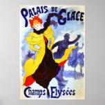 Palais de Glace, Jules Chéret Poster