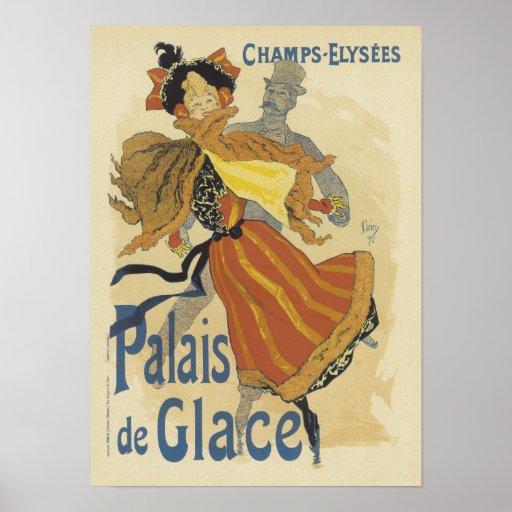 Palais de Glace, Julio Cheret Impresiones