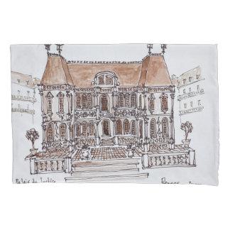 Palais de Justice Courthouse | Rennes, Brittany Pillow Case