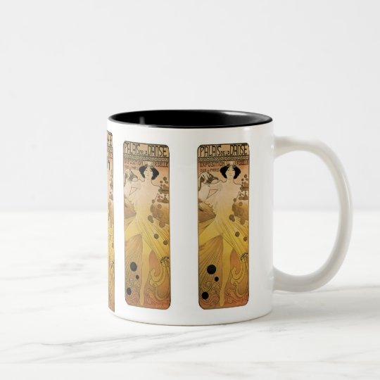 Palais de le Danse Two-Tone Coffee Mug
