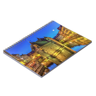 Palais de l'Ile jail and canal in Annecy old city, Notebook