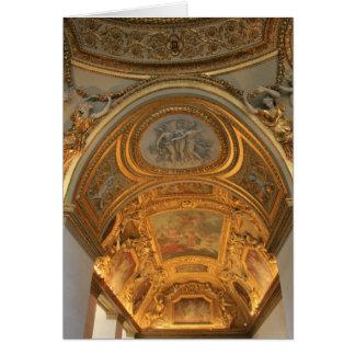 Palais du Louvre Greeting Card