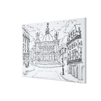 Palais Garnier Opera House | Paris, France Canvas Print