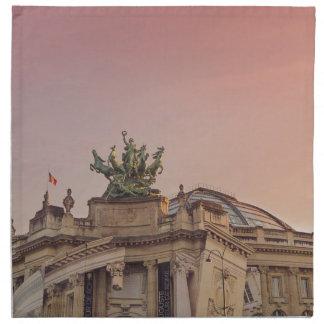 Palais magnífico servilleta imprimida