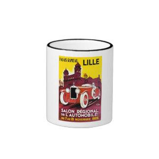 Palais Rameau - Lille - Automobile Ad - 1926 Ringer Coffee Mug