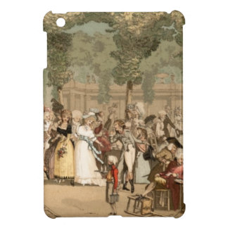 Palais Royal French Aristocrats Garden 1700s Cover For The iPad Mini