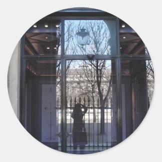 Palais Royal Paris Round Stickers