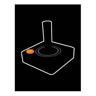 palanca de mando retra de 8 bits del juego postal
