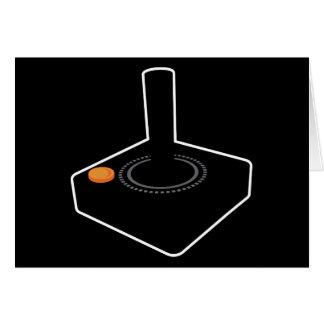 Palanca de mando retra de Atari Felicitación