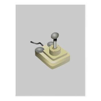 Palancas de mando retras postales