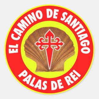 Palas De Rei Classic Round Sticker