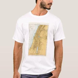 Palastina - mapa del atlas de Palestina Playera