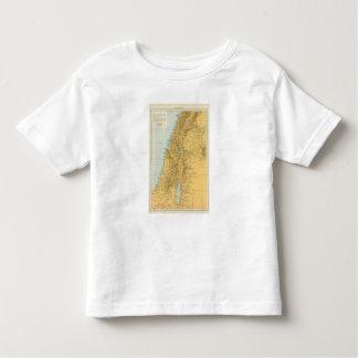 Palastina - mapa del atlas de Palestina Playera De Bebé