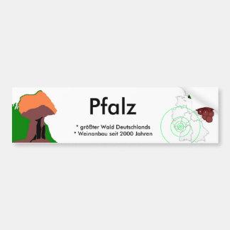 Palatinat Bumper Sticker