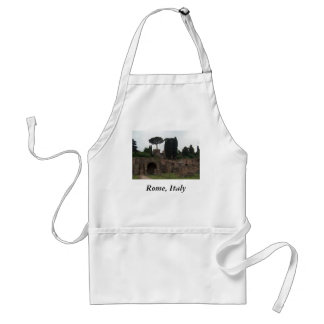 Palatine Hill in Rome, Italy Adult Apron