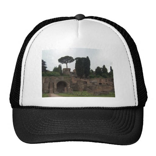 Palatine Hill in Rome, Italy Mesh Hats
