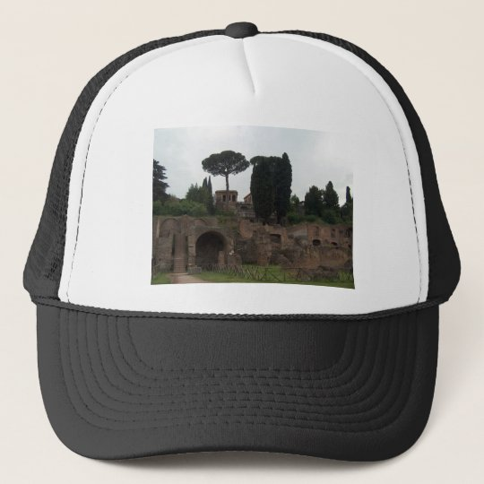 Palatine Hill in Rome, Italy Trucker Hat