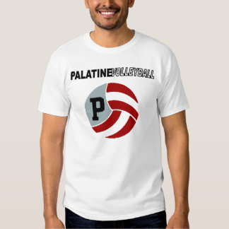 Palatine Volleyball with Logo Tee Shirt