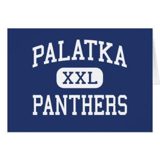 Palatka - panteras - High School secundaria - Pala Tarjeta