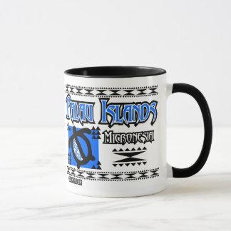 Palau Blue Tribal Mug