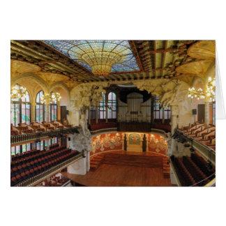 Palau de la Musica Catalana Greeting Card