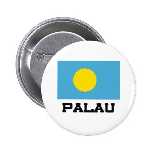 Palau Flag Pinback Button
