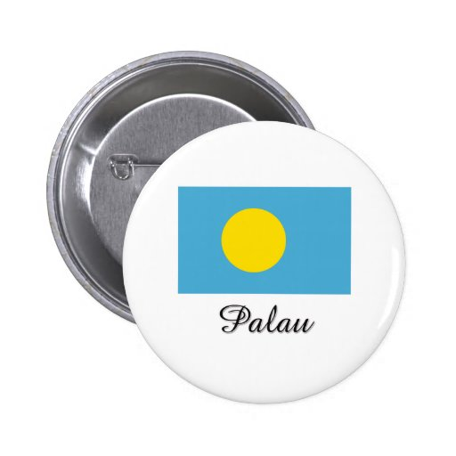 Palau Flag Design Pin