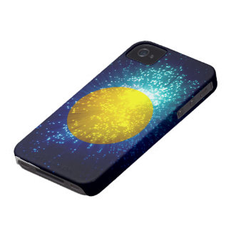 Palau Flag; Firework iPhone 4 Case-Mate Cases