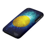 Palau Flag; Firework iPhone 3 Case