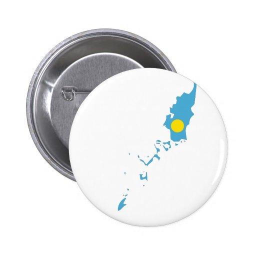Palau Flag Map Button