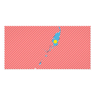 Palau Flag Map Photo Greeting Card