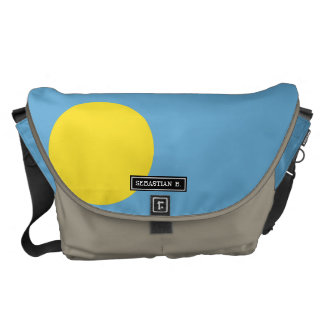 Palau Flag Messenger Bag
