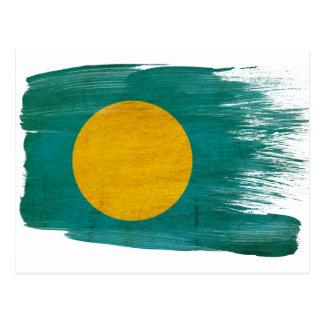 Palau Flag Postcards