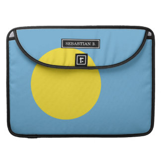 Palau Flag Sleeve For MacBook Pro