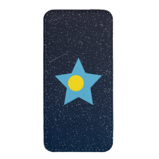 Palau Flag Star In Space iPhone 5 Pouch