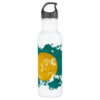 Palau Flag Water Bottle