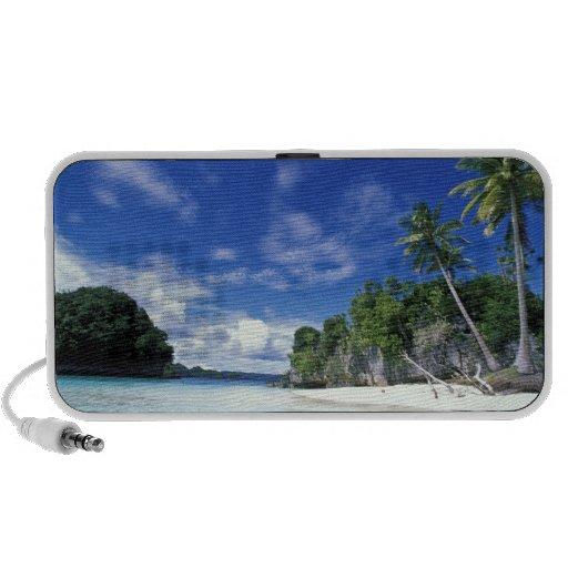 Palau, islas de la roca, isla de la luna de miel,  altavoz