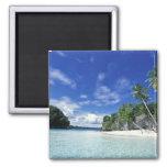 Palau, islas de la roca, isla de la luna de miel,  imán