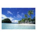 Palau, islas de la roca, isla de la luna de miel,  fotografia