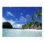 Palau, islas de la roca, isla de la luna de miel,  postales