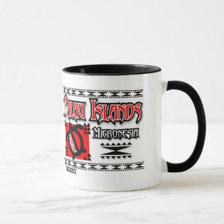 Palau Red Tribal Mug